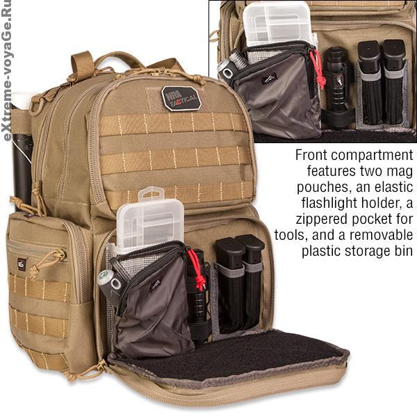 NRA Pistol Backpack: боеприпасы