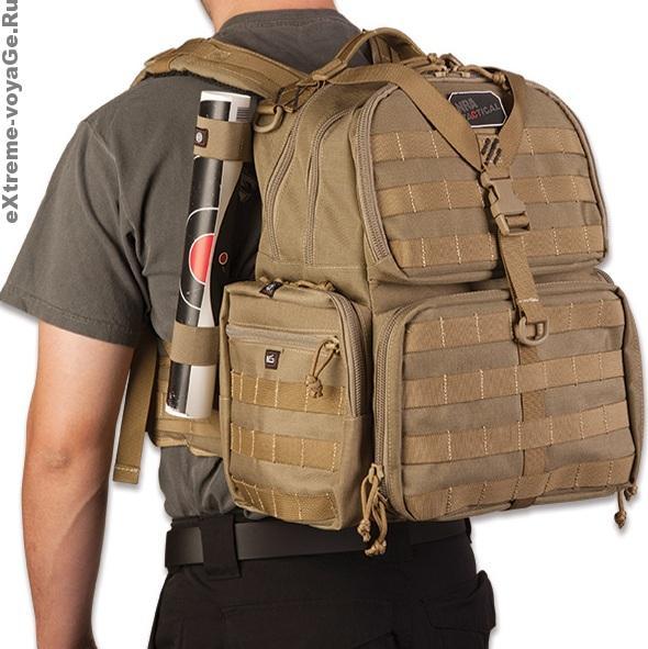 Крепление рюкзака для оружия NRA Pistol Backpack