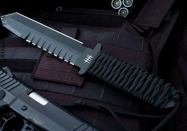 Нож-танто BFK01 в наборе австралийского рейнджера