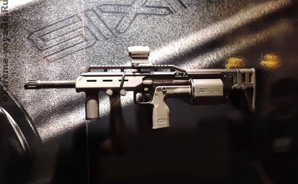 Револьверный булл-пап дробовик Crye Precision Six12