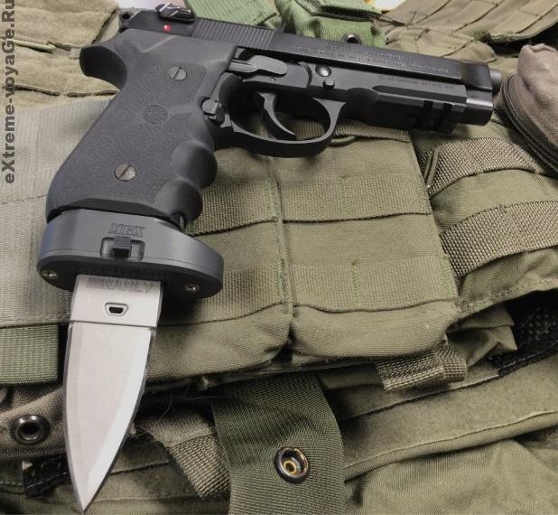 Оружие выживания: штык-нож для пистолета Manly Bayonet
