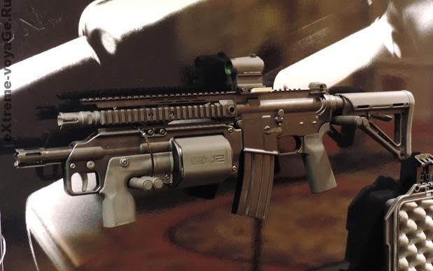 Crye Precision SIX12 на штурмовой винтовке М16