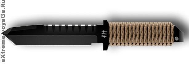 Многофункциональный армейский нож-танто для выживания BFK01