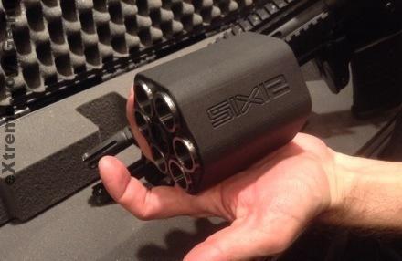 Револьверный барабан в Crye Precision SIX12