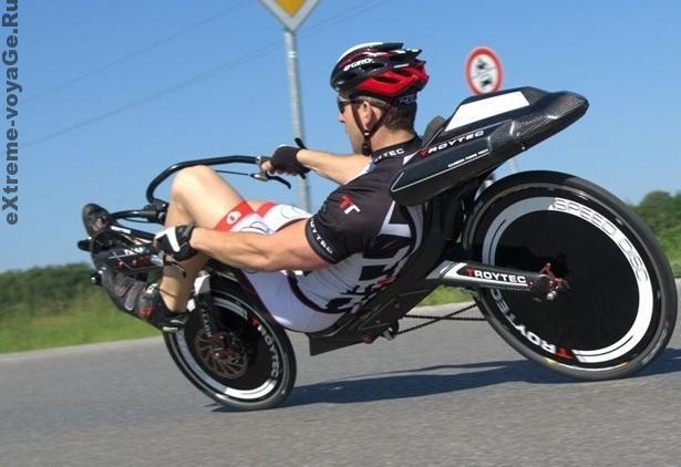 Гоночный велосипед-внедорожник TroyTec: 102 км-ч на спуске