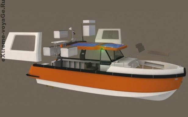 Модульная конструкция катера Ethos E30 - общий принцип