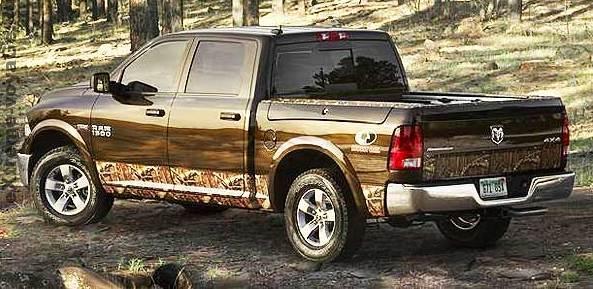 Dodge 2014: новый внедорожник в камуфляже RAM 1500