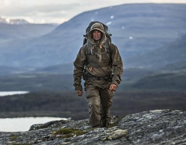 Походная куртка-анорак с капюшоном FjallRaven Anorak No 8
