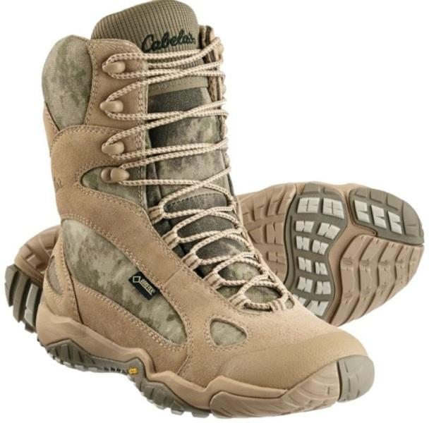 Легкие трекинговые ботинки 8 дюймов Cabela's Trainer CT1 Камуфляж