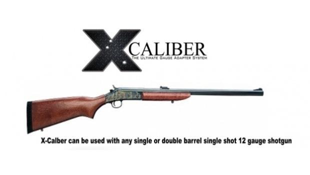 Складное ружье-винтовка для выживания Chiappa X-Caliber с изменяемым калибром