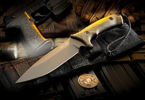 Нож для выживания Spartan Harsey Difensa