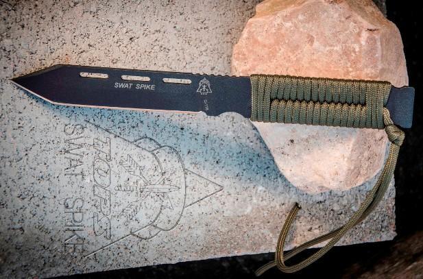 Тактический нож-танто для спецназа с паракордом SWAT Spike