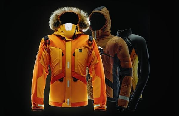 Зимняя спортивная экстрим-куртка с подогревом и НАЗ LifeTech