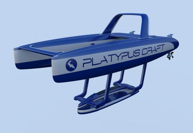 Platypus Craft вид сбоку