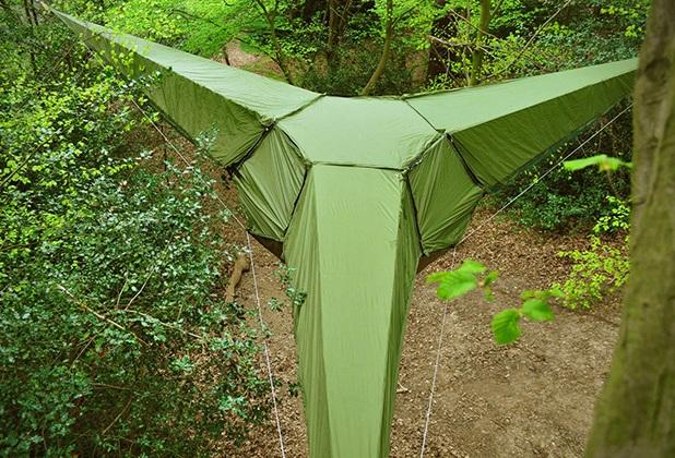 Tentsile Tree Tents вид сверху