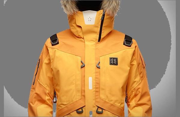 Зимняя спортивная куртка  LifeTech вид спереди
