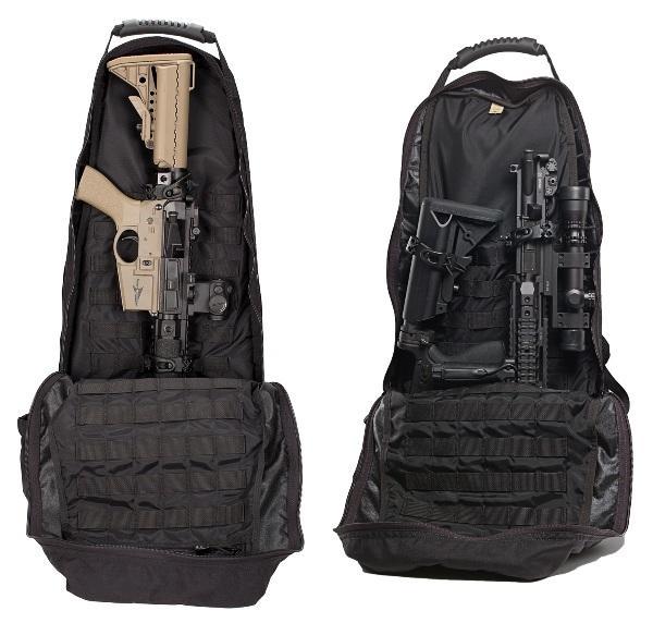 Укладка огнестрельного оружия в Noveske Discreet Backpack