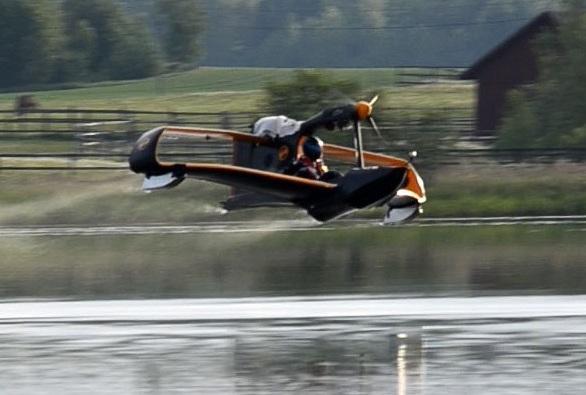 FlyNano Oy в полете