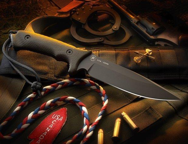 Нож для выживания Harsey Difensa