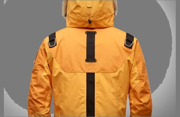 Зимняя спортивная куртка  для экстрима LifeTech вид сзади