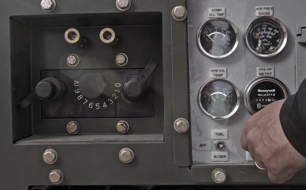 Силовой агрегат на мотовездеходе Hippo1041P