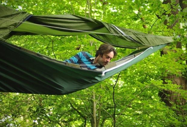 Удобство туристической палатки - гамака Tentsile Tree Tents