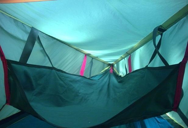 Походная палатка для походов Tentsile Tree Tents изнутри