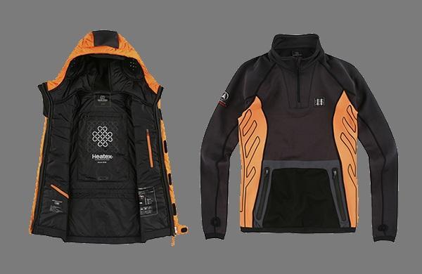 Трехслойная куртка LifeTech для зимнего экстрима