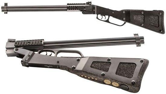 Оружие самозащиты - ружье винтовка с изменяемым калибром Chiappa X-Caliber