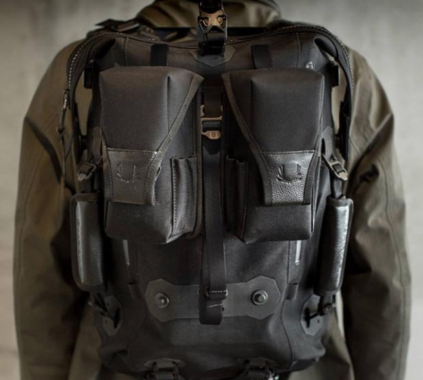 Кожаный городской модульный рюкзак Ember Pack