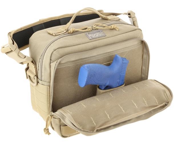 Дорожная наплечная сумка с модульными панелями Mag Bag Pals