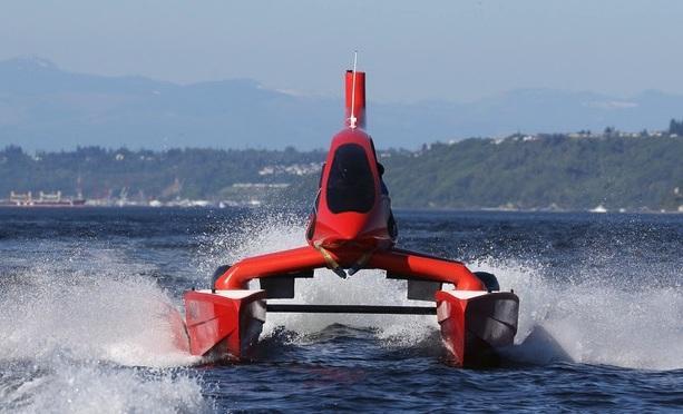 Универсальный скоростной моторный катамаран HeliCat 22