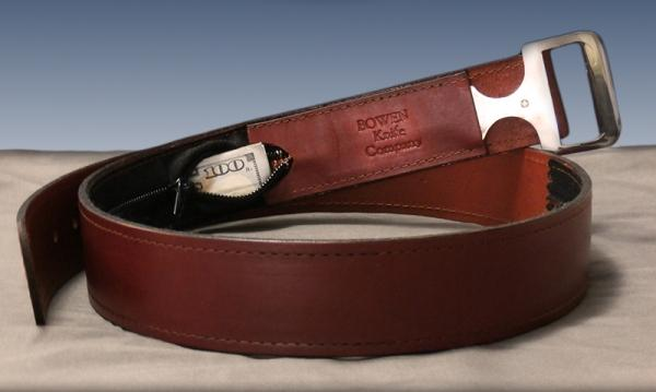 Ремень Brown Moneybelt