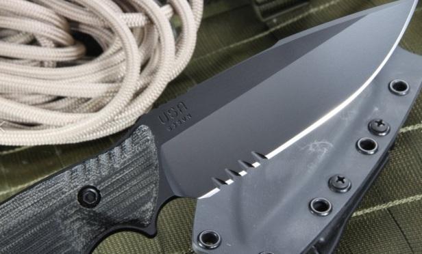 Лезвие тактического ножа Attleboro Knives