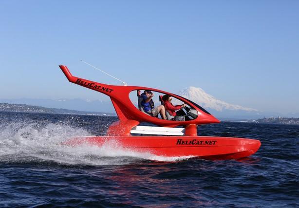 HeliCat 22 в открытом море