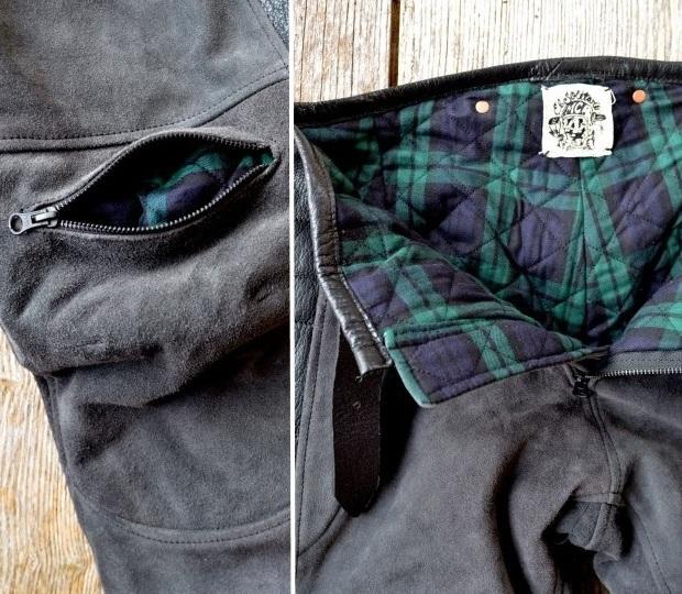 Хлопковое основание мотоциклетных брюк Rascal