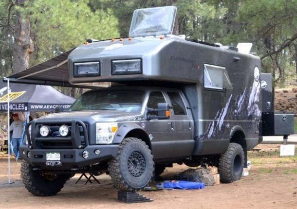 Экспедиционный внедорожник-автодом 2014 EarthRoamer XV-LTS