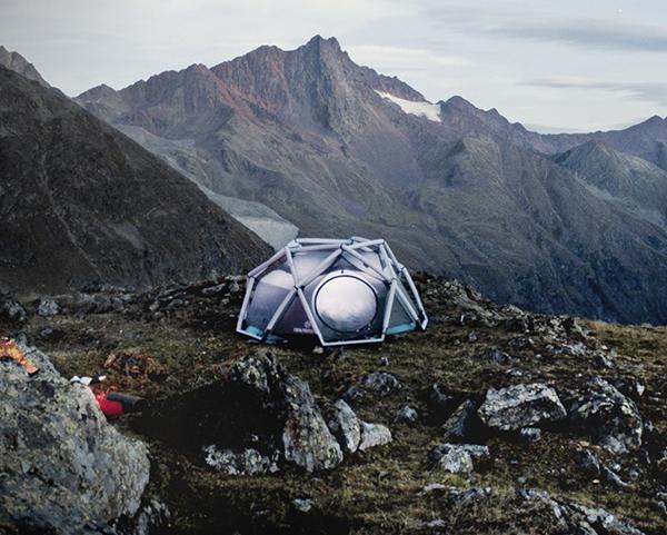 Надувная экспедиционная палатка-крепость Mavericks