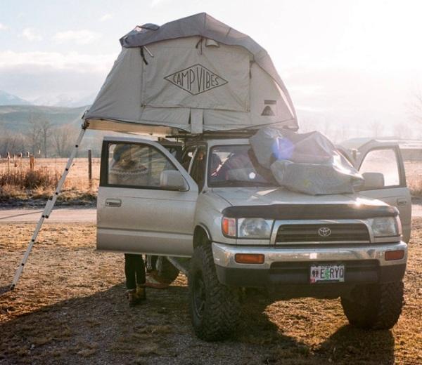Кемпинговая палатка на крышу автомобиля Le Tente