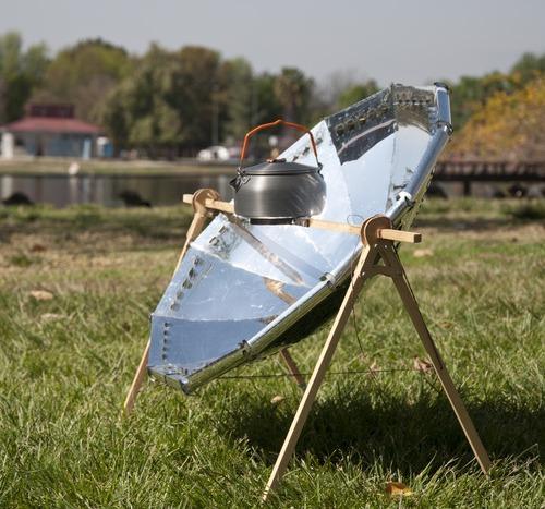 Портативная параболическая солнечная плита Sun Juicer