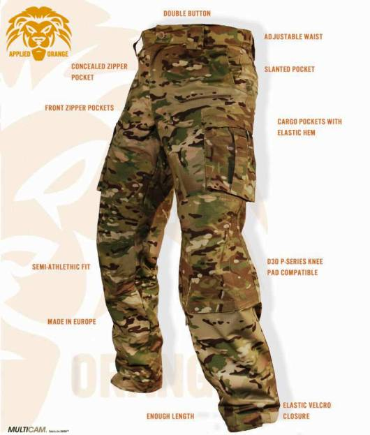 Армейские полевые брюки 2014 года FDD Gen1 Multicam