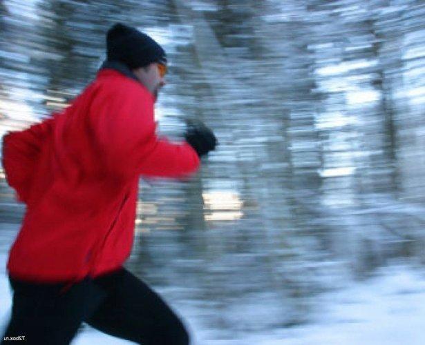 Занятия бегом в холодную пору года