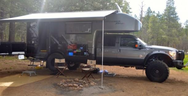 2014 EarthRoamer XV-LTS в кемпинге