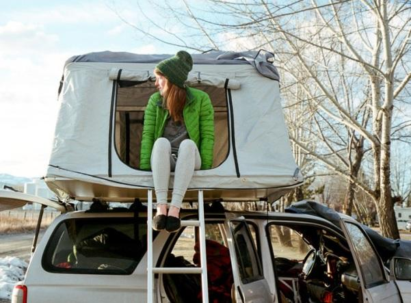 Установка палатки Poler Le Tente