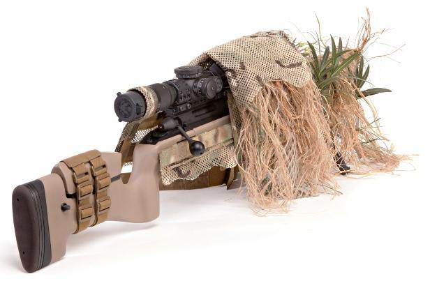 Rifle Ghillie в подвернутом виде