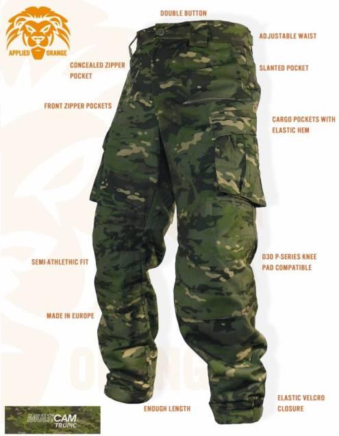 Военно - полевые брюки FDD Gen1 Multicam Tropical