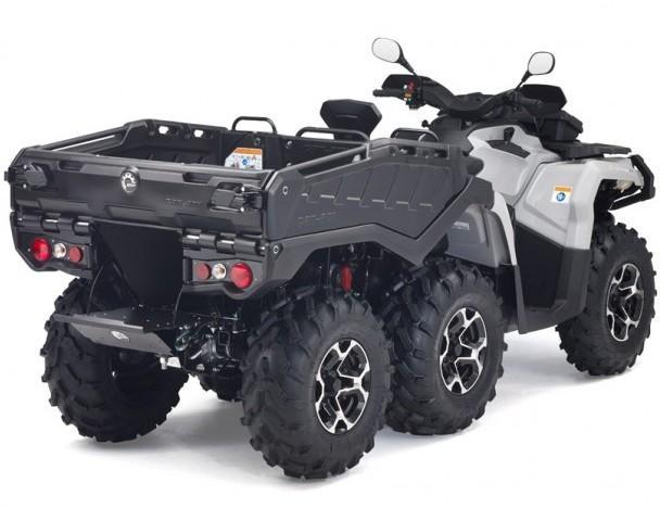 Шестиосный мотовездеход Outlander ATV