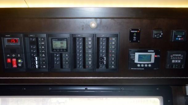 Блоки управления системами в EarthRoamer XV-LTS
