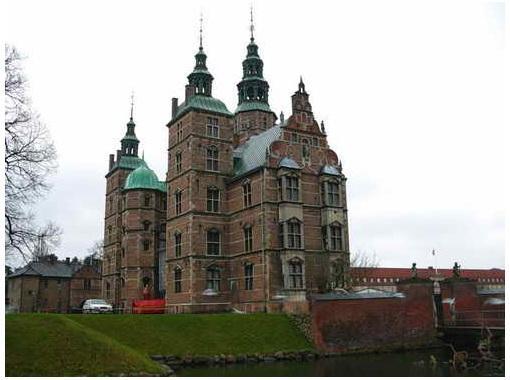 Замок Росенборг, Орхус, Дания