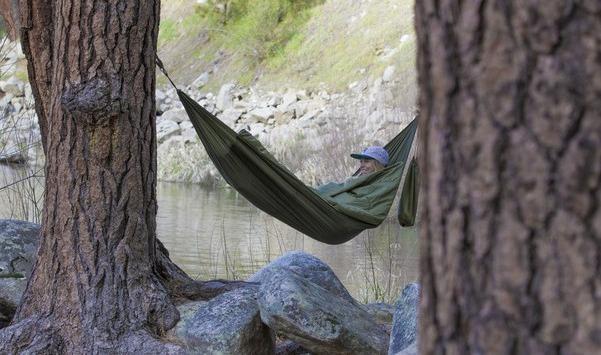 Туристический спальный мешок-гамак Bison Bag